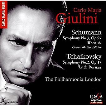 Schumann / Tchaikovsky / Giulini, Carlo Maria - Symphony No.3 / Symphony No.2 [SACD] USA import