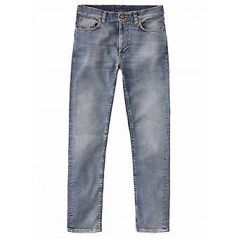 Nudie Jeans Lean Dean Broken Sage Worn Jean