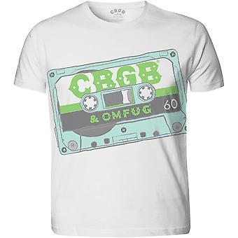 Cbgb Tape Official Tee T-Shirt Mens Unisex