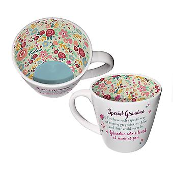 Two Up Two Down Inside Out Mug - Special Grandma