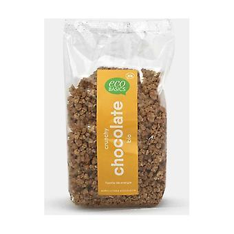 Crunchy økologisk sjokolade 375 g