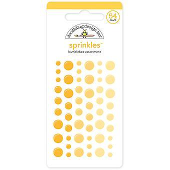סוכריות דבורה עיצוב דודלבאג (54pcs) (4008)