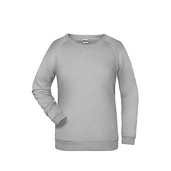 James en Nicholson Womens/dames Basic Sweatshirt