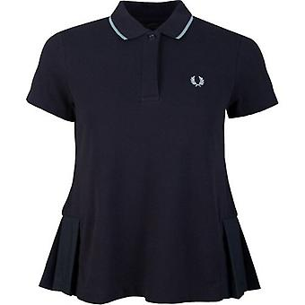 Fred Perry Authentics Pleated Polo Shirt