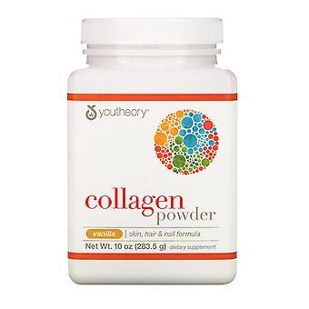 Youtheory, Collagen Powder, Vanilla, 10 oz (283.5 g)