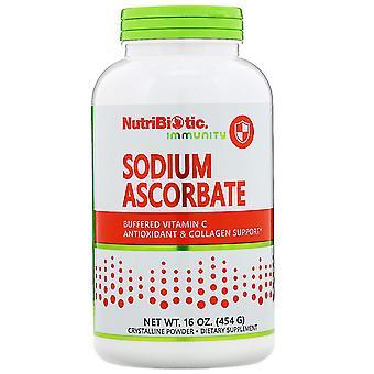 NutriBiotic, Immuniteit, Natriumascorbaat, Kristallijn Poeder, 16 oz (454 g)
