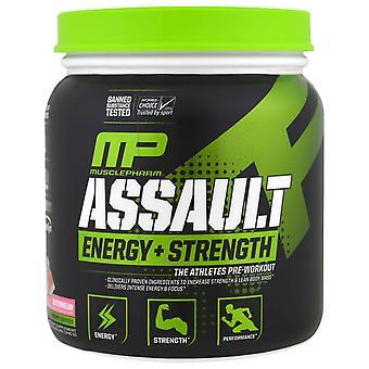 MusclePharm, Assault Energy + Strength, Pre-Workout, Watermelon, 0.76 lbs (345 g