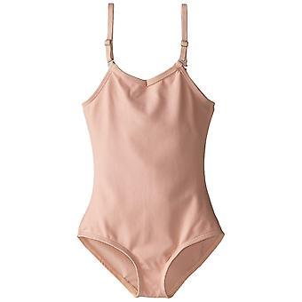 Capezio kleine Mädchen' Camisole Trikot W/, Ballett rosa, Größe klein (4-6)