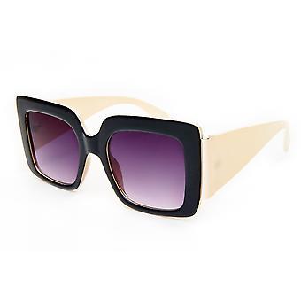 نظارات شمسية المرأة Cat.3 أسود / أبيض (19-132)