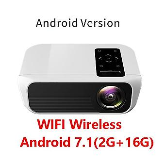 Full HD LED Projector Android Portable Support 1080P -HDMI - 4K for Amazing Home Cinema Media