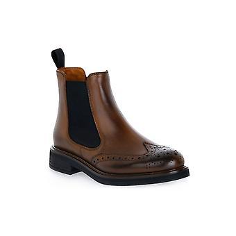 Frau Silk Walnut Shoes