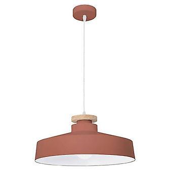 Forlight Nube - Dome Plafond hanger Rood 1x E27