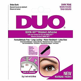 DUO Quick Set Professional Strip False Eyelashes Adhesive - 5g Dark Tone
