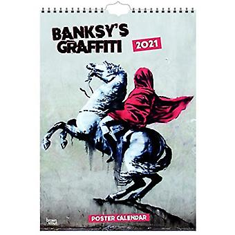 BANKSYS GRAFFITI 2021 A3 POSTER by Browntrout