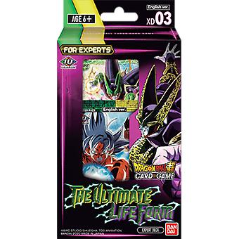 Dragon Ball Super CG XD03 das ultimative Leben Form Trading Card Expert Deck