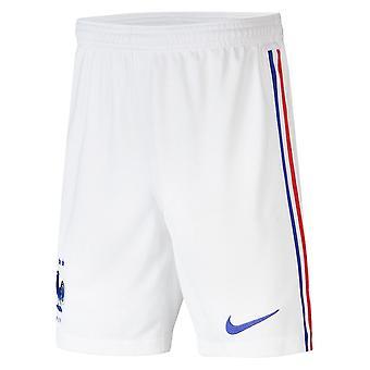 2020-2021 France Nike Away Shorts (White) - Kids