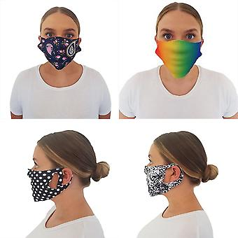 AXQ Unisex Adult Face Mask (Pack of 50)