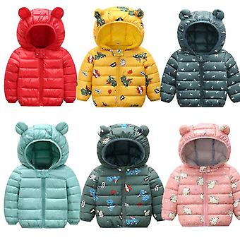 Winter Clothing Thin And Light Cotton Down Jacket Baby Boys