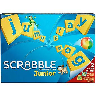 Mattel games scrabble junior, children board game fro 6-10 year old-multicolor
