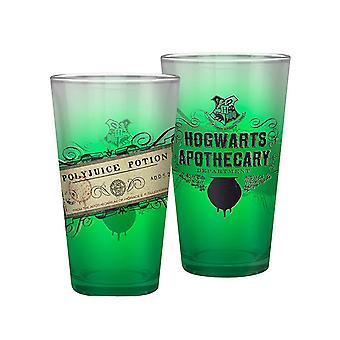 Harry Potter Glass Polyjuice Potion ny Offisiell Boxed Large