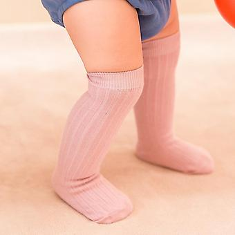 Baby, Toddler,, Copii, Knee High Socks, Solid Color, Colanti Picior Bumbac Warmer