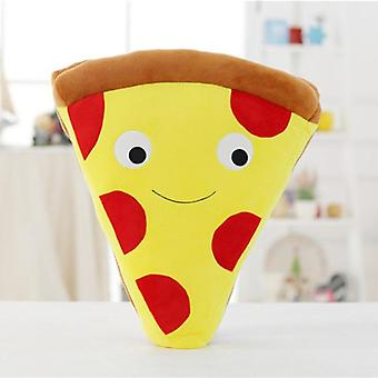 Pommes frites och pizza form fyllda Soft Toy Kudde till jul (30/50cm)