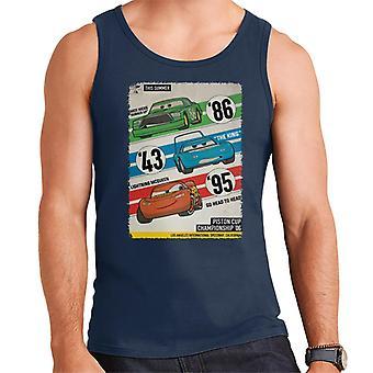 Pixar Cars Piston Cup Championship '06 Men's Vest