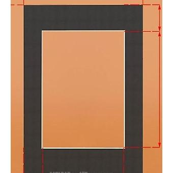 Rectangle Photo Mats - Paper Board Mounts Textured Surface