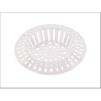 Basics Sink Strainer 1 3/4in White 44204