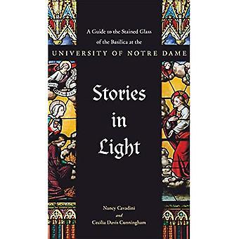 Historier i lys: En guide til det farvede glas i basilikaen ved Universitetet i Notre Dame
