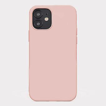Pink iphone 12 mini soft silicone case