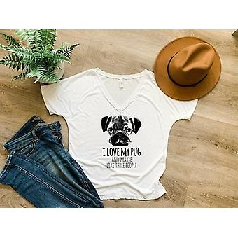 I Love My Pug & Maybe Like Three People - Shirt