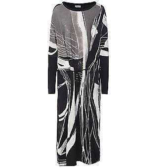 Crea Concept Long Sleeve Midi Dress
