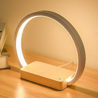 Wireless Charger Led Desk Lamp With Touch  (wxcd-a Warm White)