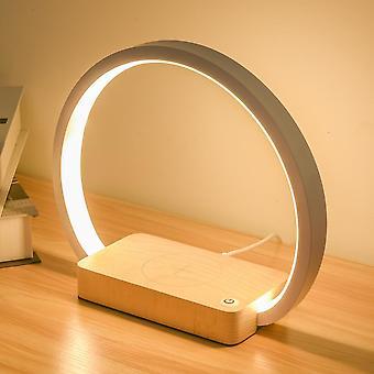Wireless Ladegerät Led Schreibtischlampe mit Touch (wxcd-a Warm White)