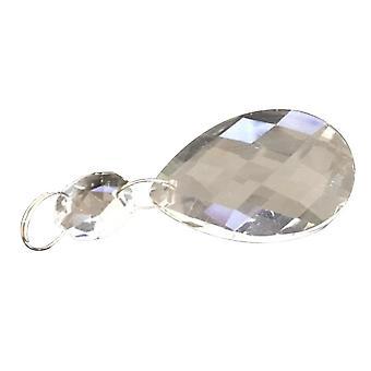 Klare Kunst Glas Tropfen Kronleuchter Teile, Anhänger Licht Lampe