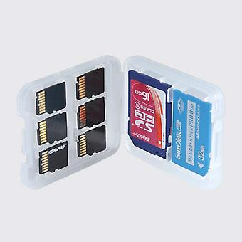 Hard Micro Sd Sdhc Tf Ms Memory Card Storage Box Protector Holder Case