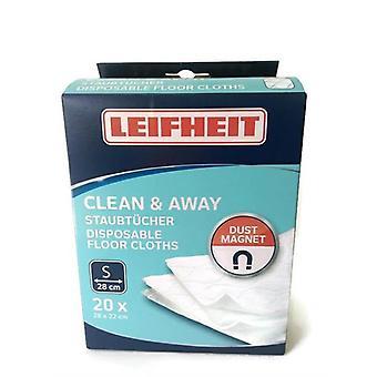 Leifheit Clean And Away Å›cierki Do Mopa 20szt 56668