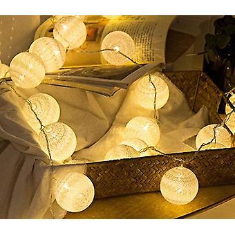 Led Katoen Bal Guirlande String Light, Wedding Party Decore