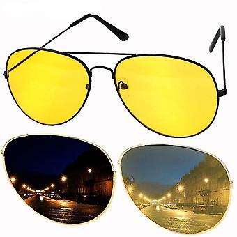 Car Driver Night Vision Goggles Auto Accessories Driving Glasses Copper Alloy