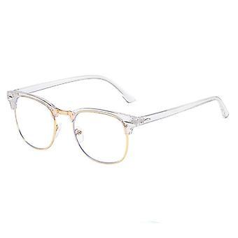Semi Rimless, Anti Blaulicht Strahl Brillen rahmen
