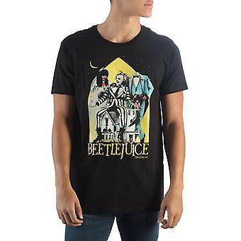 Beetlejuice musta t-paita