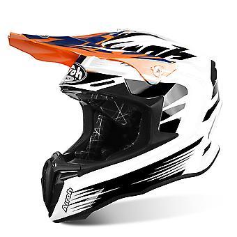 Airoh Twist Motorcycle Helmet Replacement Peak Mix Orange PEAK ONLY