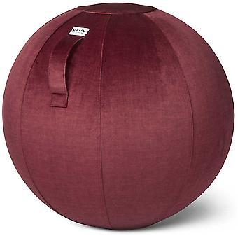 Vluv Varm Samt-Sitzball Durchmesser 70-75 cm Chianti