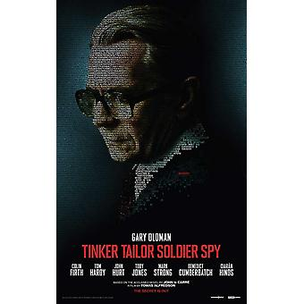 Tinker skredder soldat spion film plakat (11 x 17)