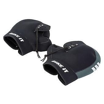 Neoprene Boxer Bar Muffs Black/Grey