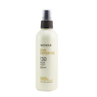 Sol expertis skyddande ansikte & kropp sol emulsion spf 30 (för alla hudtyper & vattenresistent) 259741 200ml/6.8oz