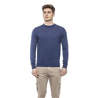 Alpha Studio Chambray Sweater - AL1375665