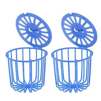 Birds Fruit Vegetable Feeder Basket (2pcs S)
