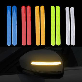 Reflectante Car Stickers, Reflector Rearview Mirror Tape